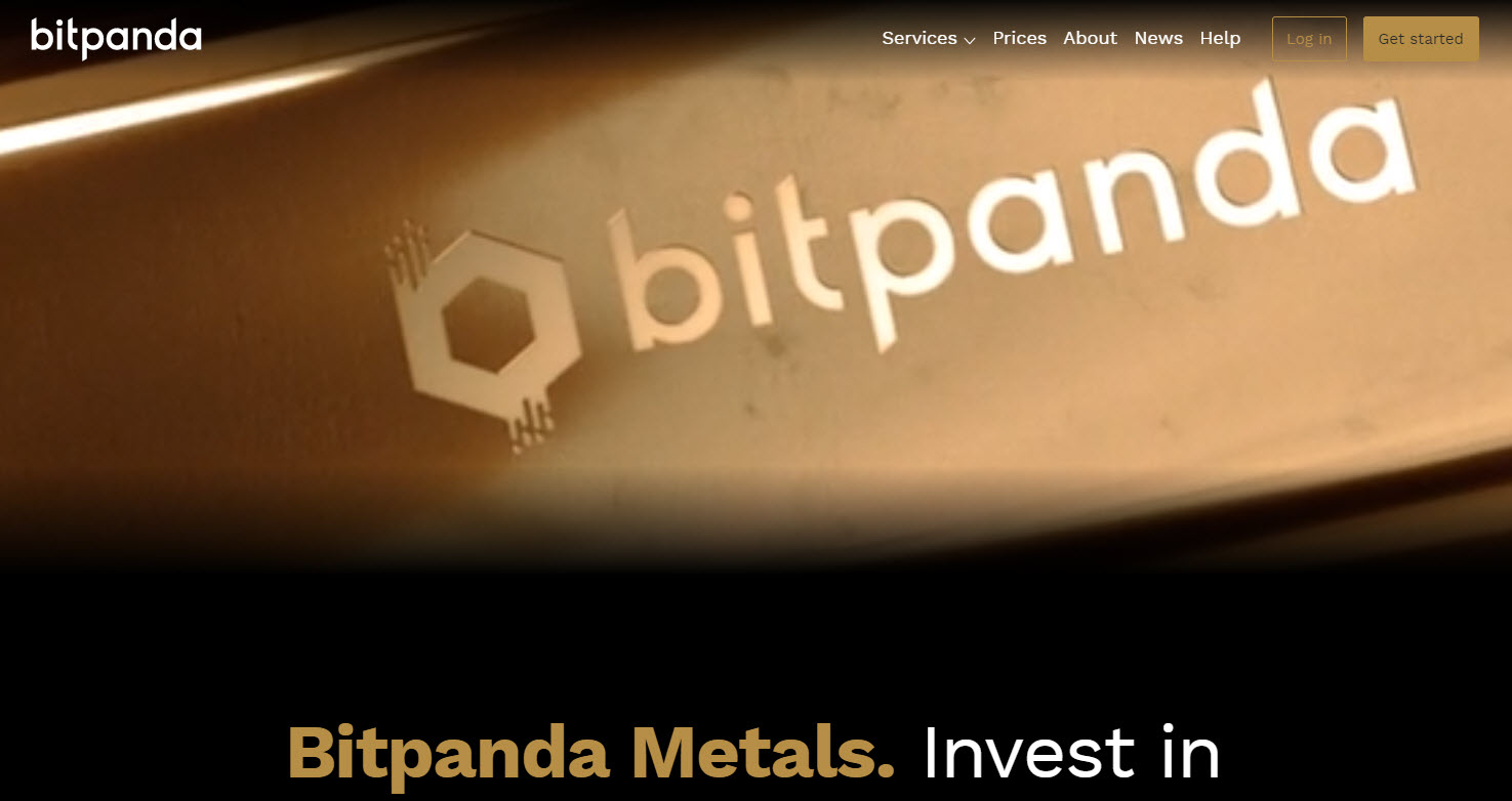 Bitpanda review precious metals